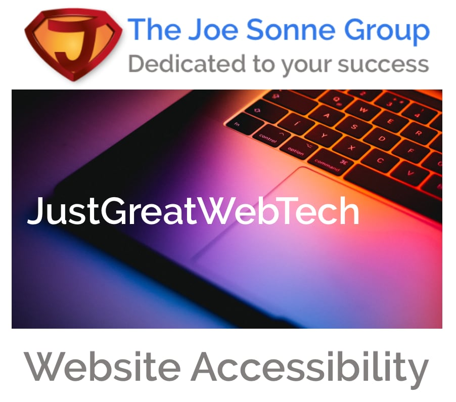 JustGreatWebTech for Accessibility