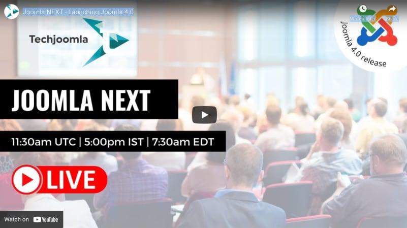 Joomla NEXT Event